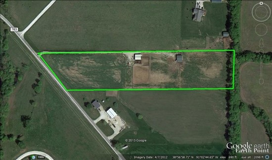 6.75 acre building tract minutes from Troy