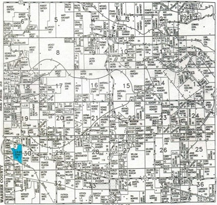 100 acres; Highway A; Lincoln County