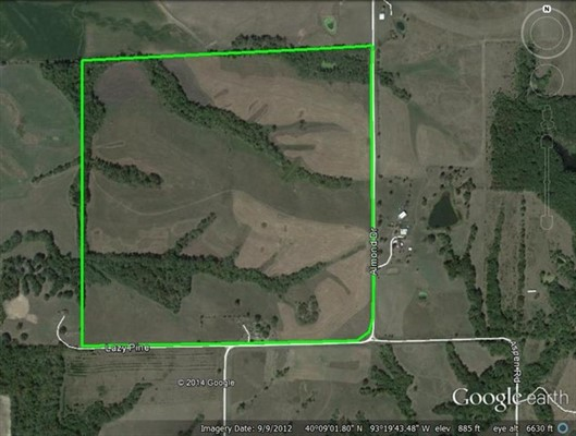 153 acres Sullivan County, Missouri
