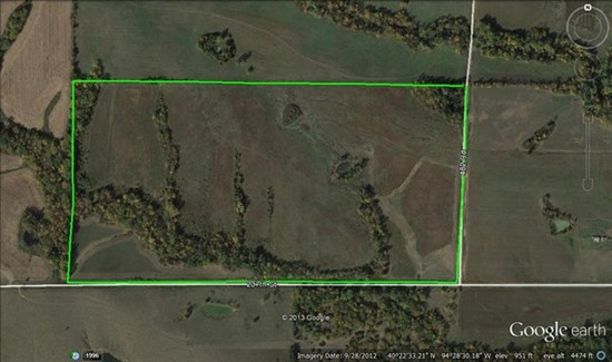 120 acres Gentry County