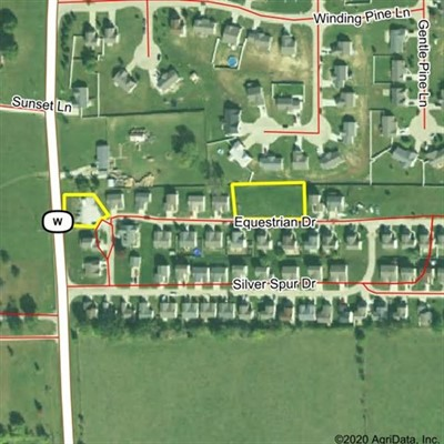 Lots 112,113,114,115,121 Equestrian Dr; Winfield