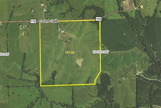 147 acres Adair County, Missouri