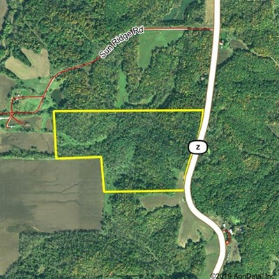55 acres; Hwy Z; Sullivan County