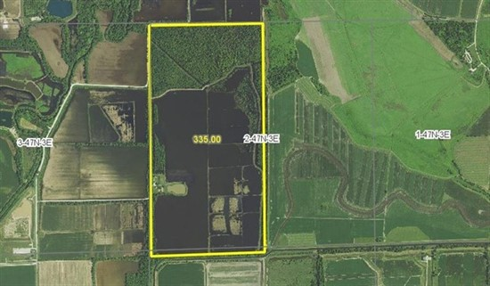 335 acre Established Duck Club in St. Charles County, Missouri