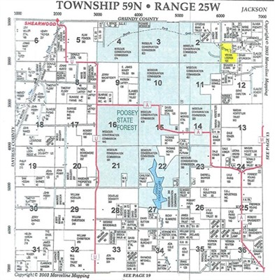 103 acres; County Rd 502; Livingston County; Missouri - Hunting Lease