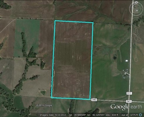 80 acres Knox County, Missouri