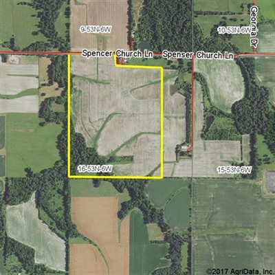 115 acres; Spencer Church Lane; Ralls County