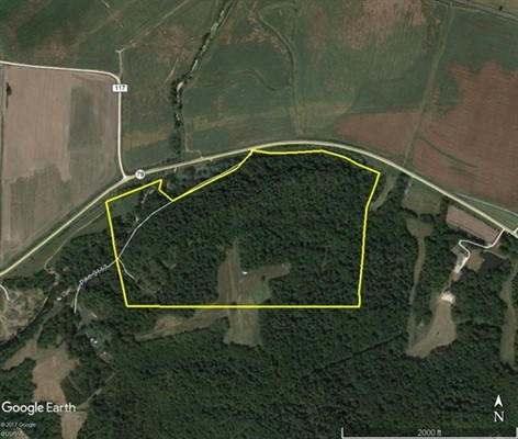 125 acres; Hwy 79; Pike County, Missouri- Hunting Lease