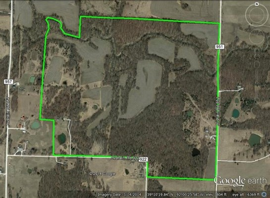 194 acre Recreational Tract in Audrain County, Missouri
